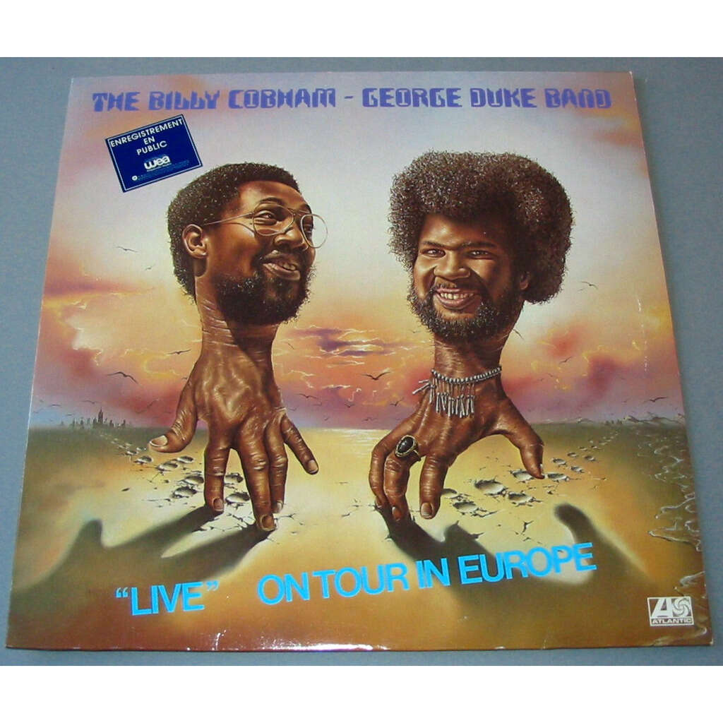 THE BILLY COBHAM GEORGE DUKE BAND LIVE ON TOUR IN EUROPE
