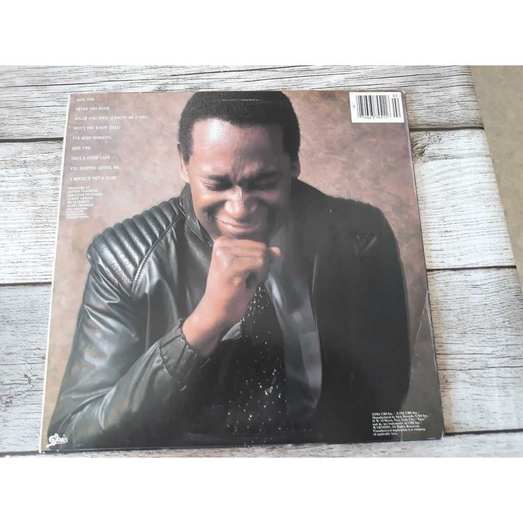 Luther Vandross Never Too Much.1981