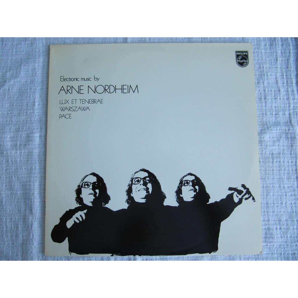 Arne Nordheim Electronic Music