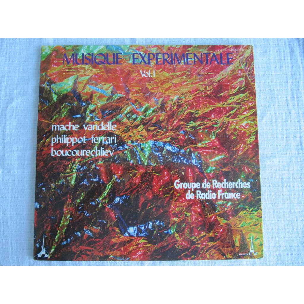 Mâche / Vandelle / Philippot / Ferrari / Boucourec Musique Expérimentale (Vol. I)