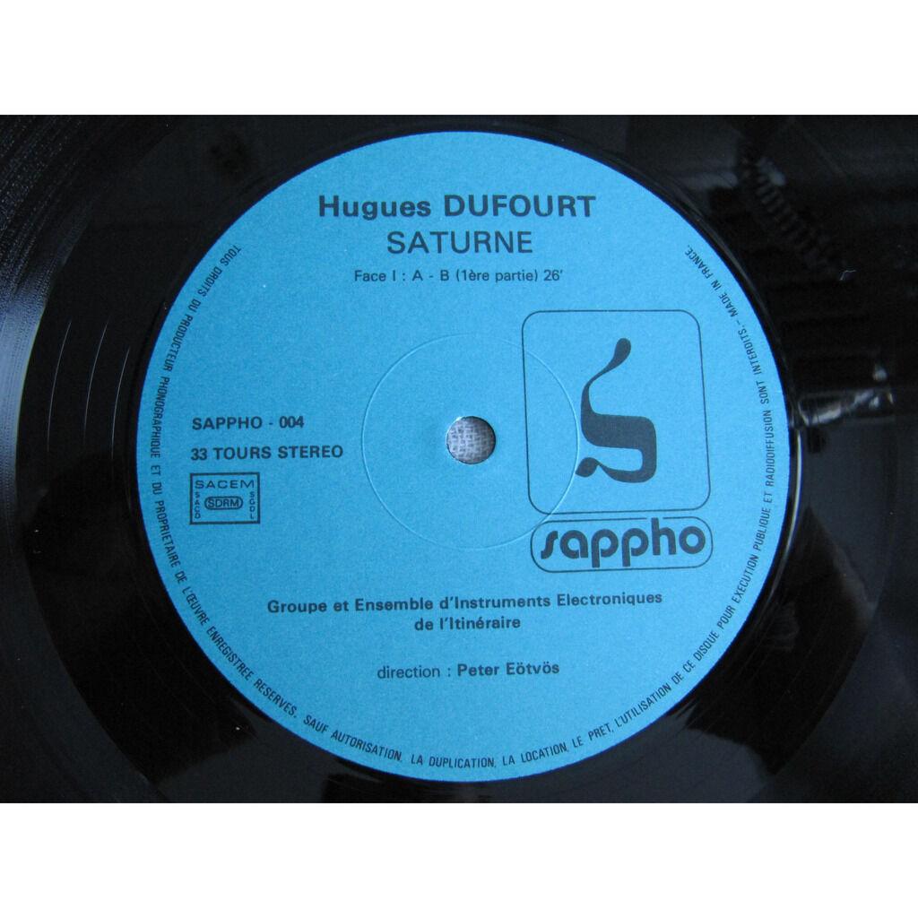 Hugues Dufourt, Ensemble D'Instruments Électroniqu Saturne