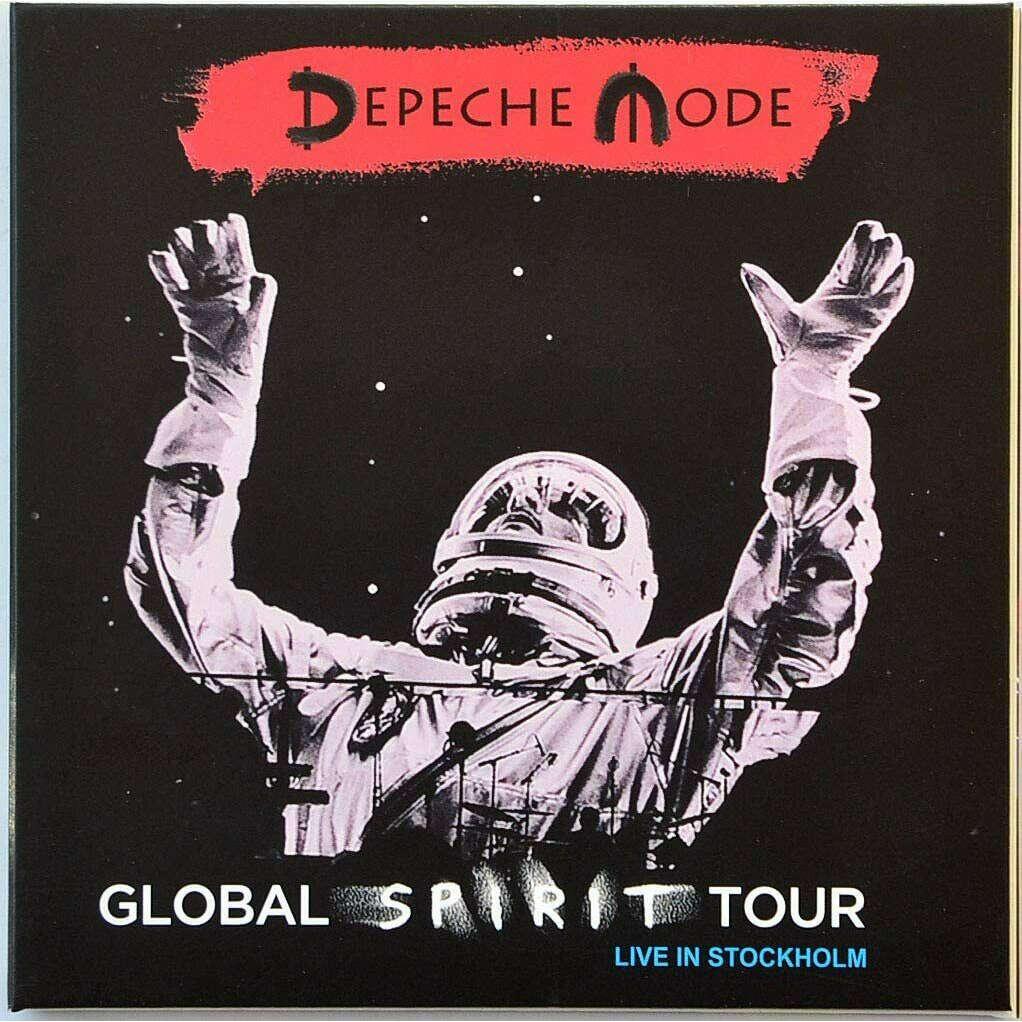 DEPECHE MODE Live In Stockholm Sweden 2017 Global Spirit Tour 2CD