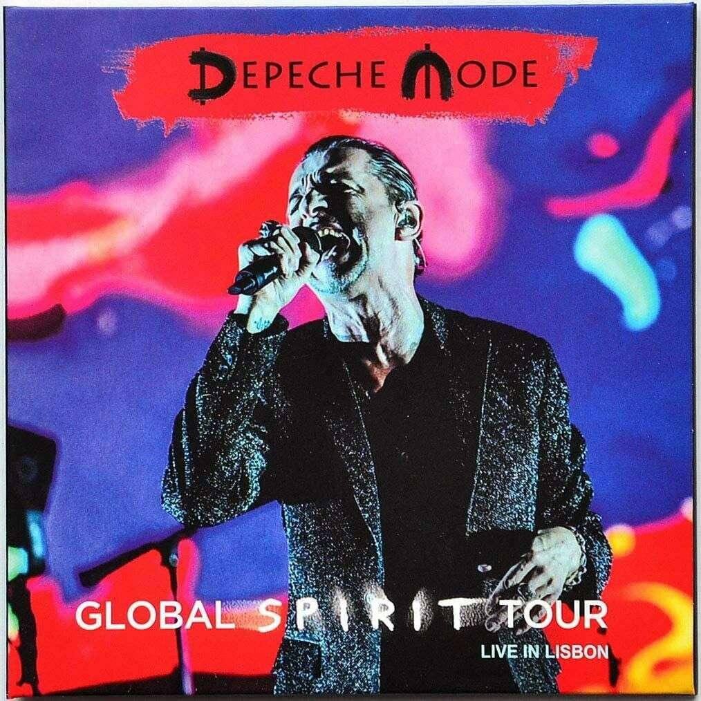 DEPECHE MODE Live at NOS Alive Festival Lisbon Portugal 2017 Global Spirit Tour 2CD
