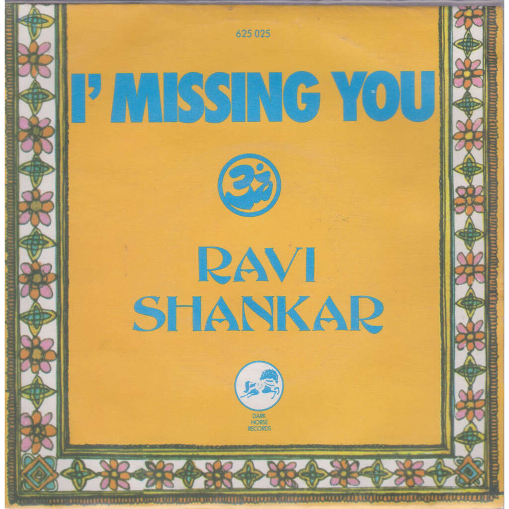 ravi shankar i' missing you