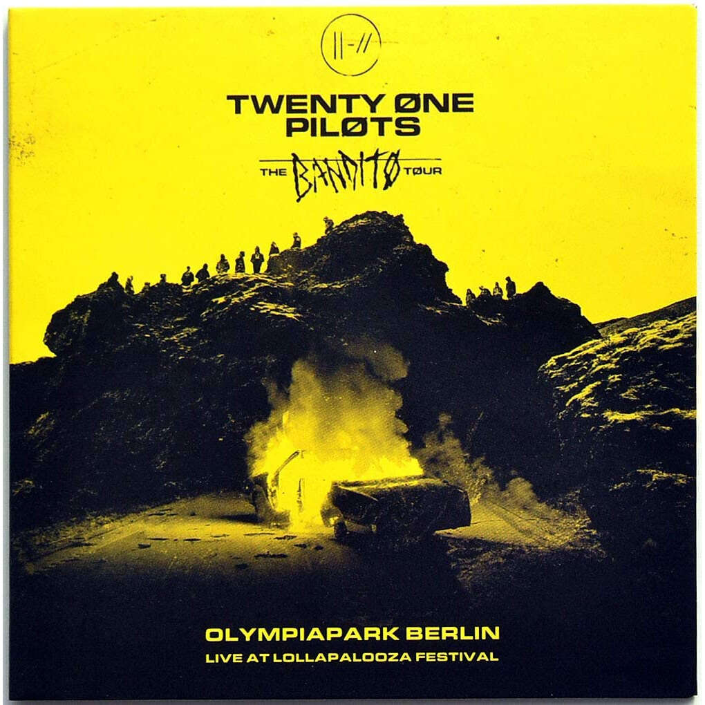 twenty one pilots Live at Lollapalooza Festival Berlin Germany 2019 The Bandito Tour CD