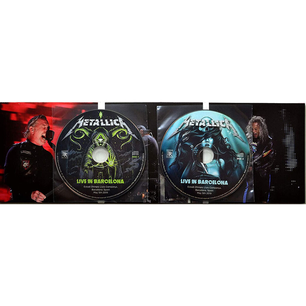 METALLICA Live In Barcelona Spain 2019 World Wired Tour 2CD