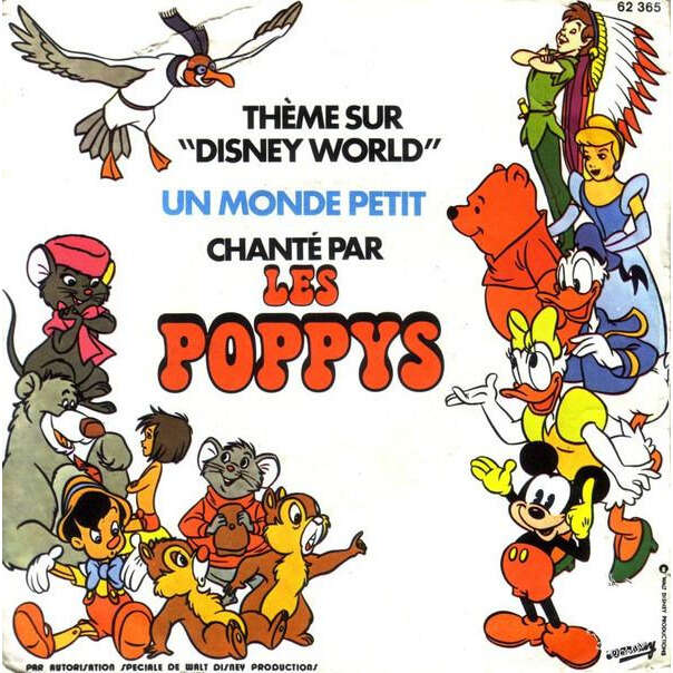 poppys un monde petit - mickey mouse march