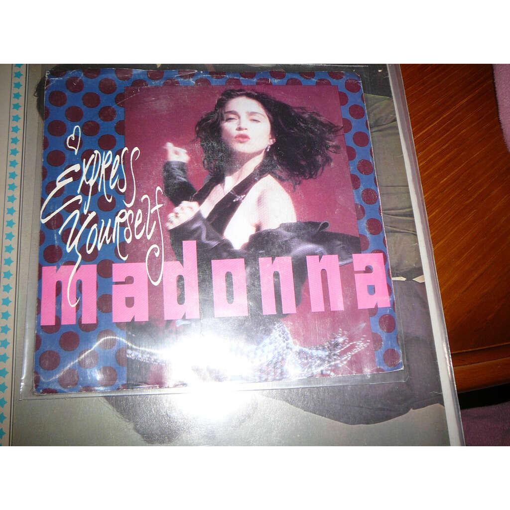 MADONNA Express yourself / Cherish