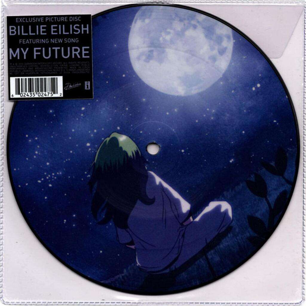 BILLIE EILISH My future ( limited edition: single sided picture disc )