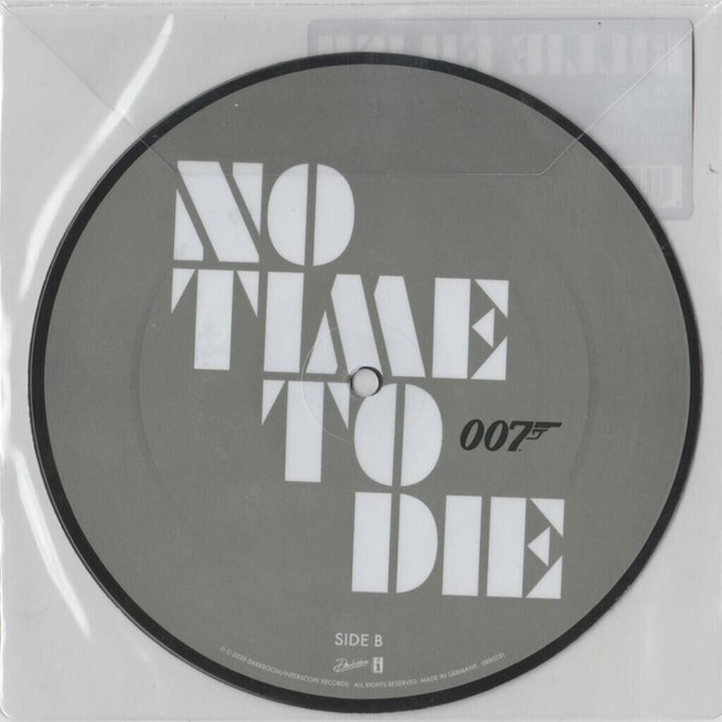 BILLIE EILISH No time to die ( limited edition picture disc )