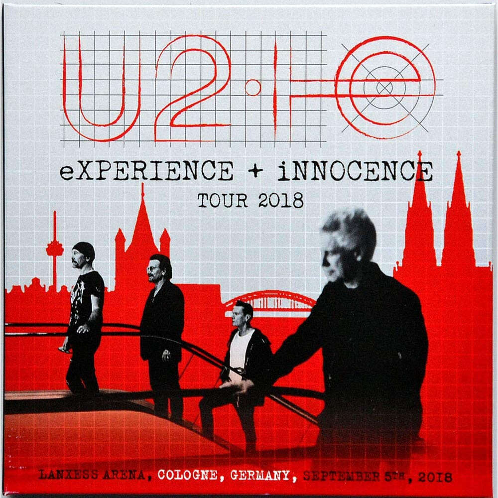 U2 Live In Cologne Germany 2018 eXPERIENCE+iNNOCENCE Tour 2CD