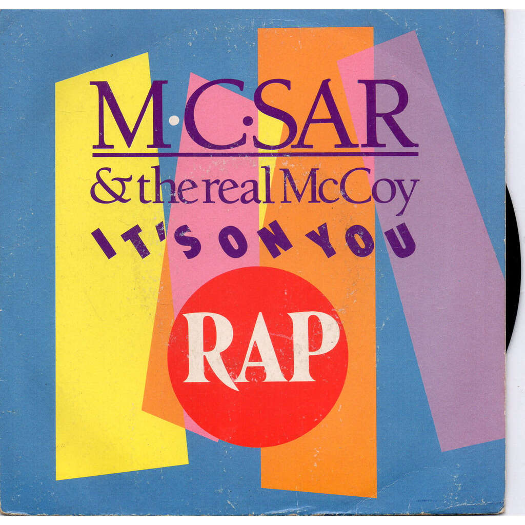 Mc Sar And The Real Mccoy it's on you (quickmix ) / it's on you( quick house mix)