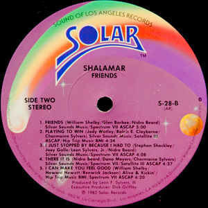 Shalamar Friends . 1982.