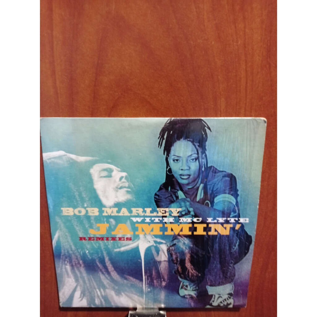 Bob MARLEY & Mc LYTE Jammin' remixes CARD SLEEVE 2 tracks