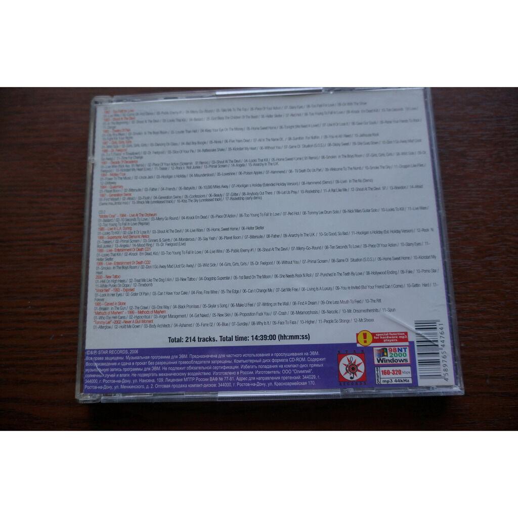 Motley Crue MP3 Collection (2 CD)