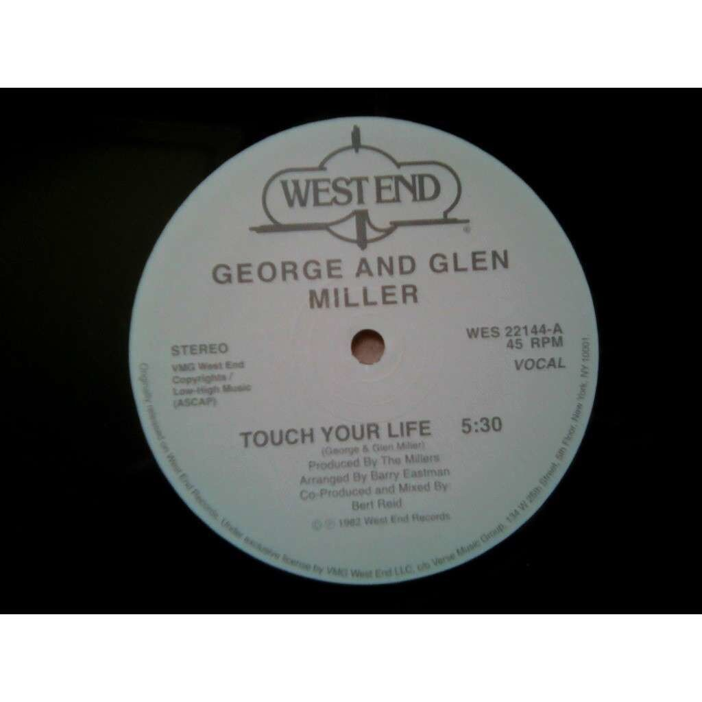 George & Glen Miller Touch Your Life .1982.
