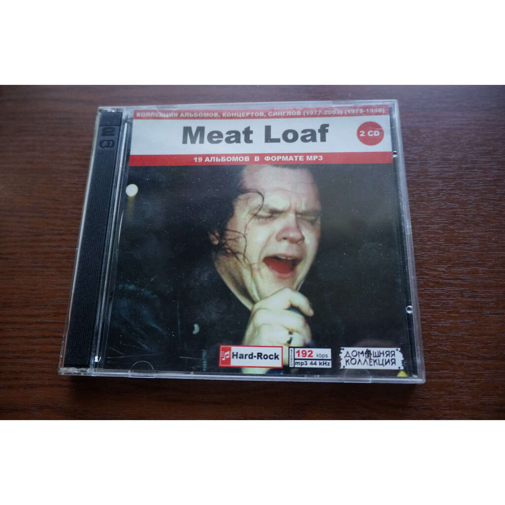 meat loaf MP3 Home Collection (19 albums) (2 CD)