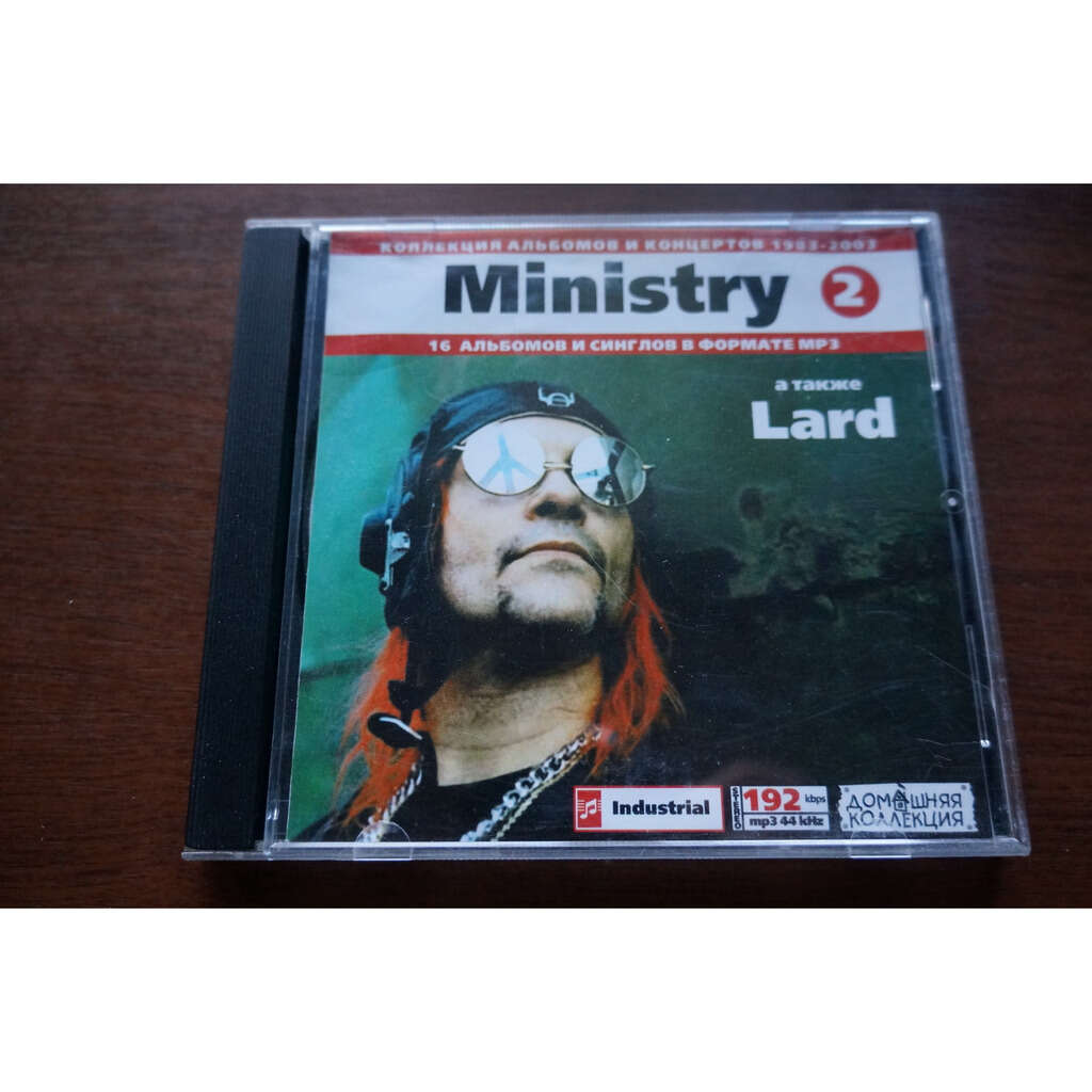 ministry MP3 Home Collection CD-2 (1983-2003)