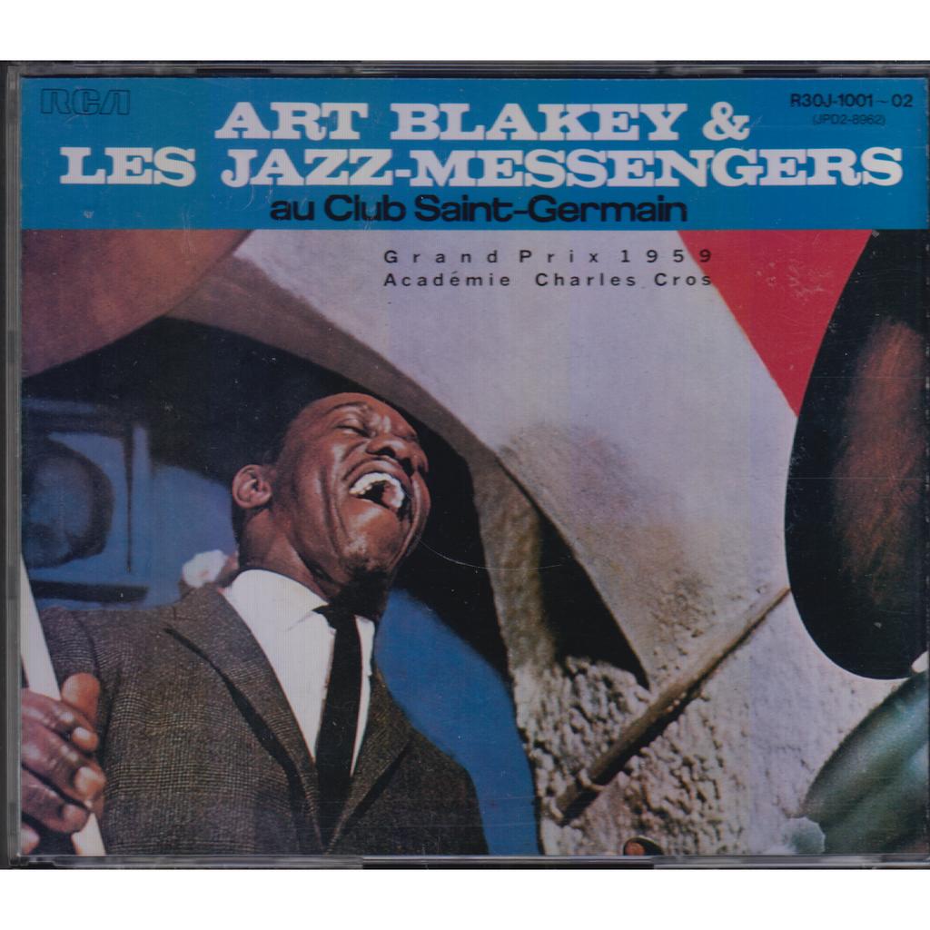 ART BLAKEY & LES JAZZ-MESSENGERS Au Club Saint-Germain JAPAN 2CD MINT