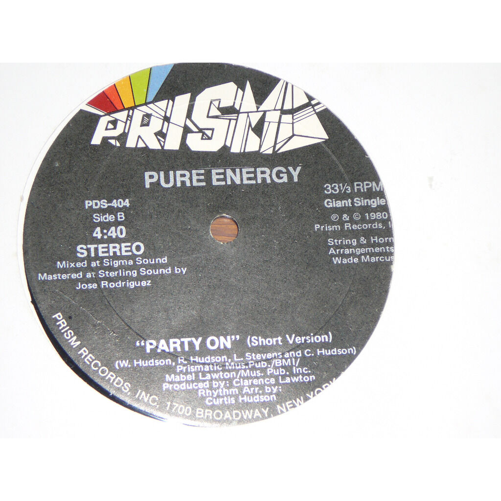 pure energy party on