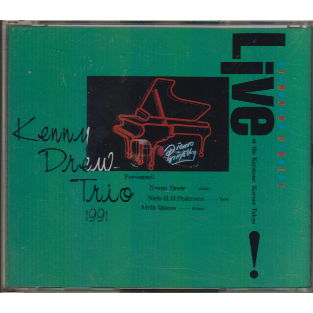 KENNY DREW TRIO Standards Request Live At The Keystone Korner Tokyo JAPAN 2CD NM