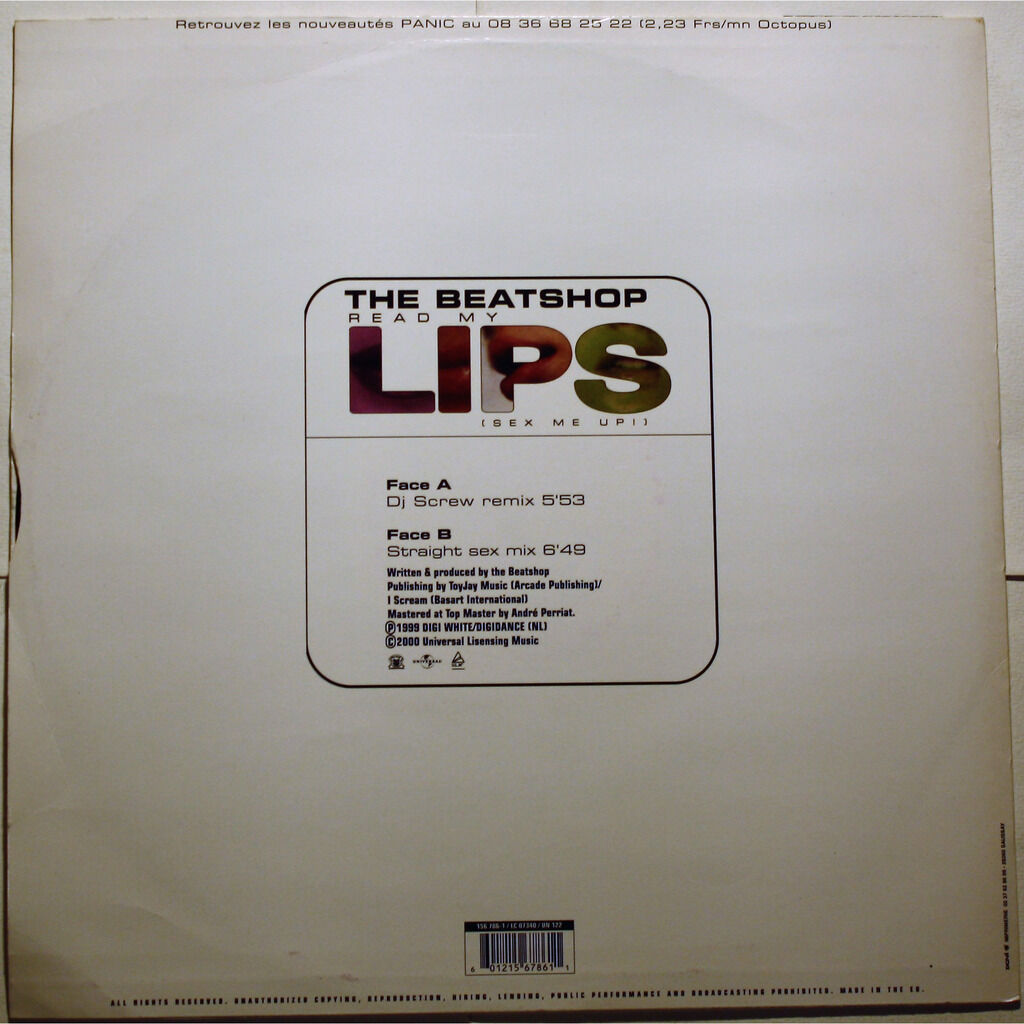 The Beatshop Read My Lips (Sex Me Up!)