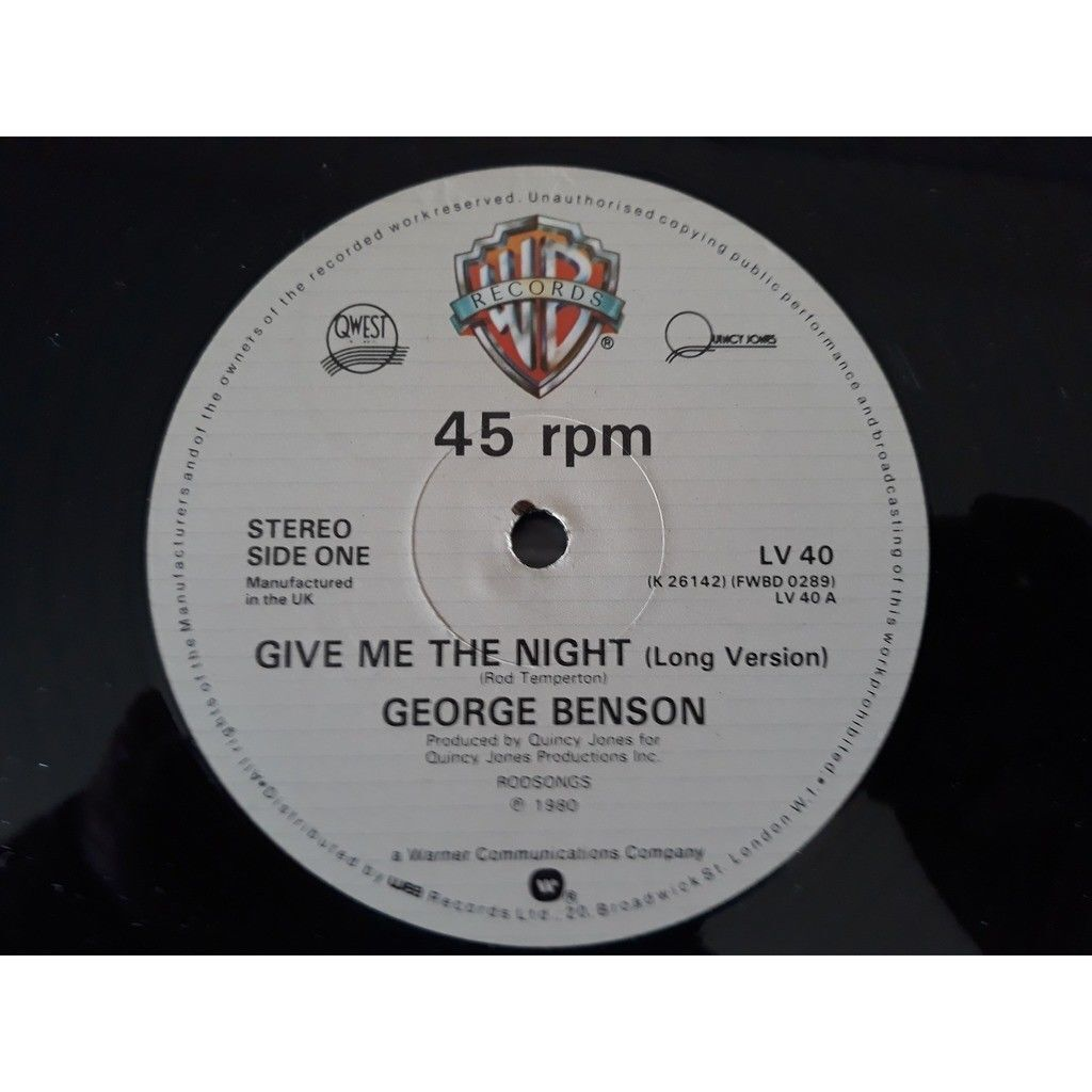 george benson give me the night 1980.