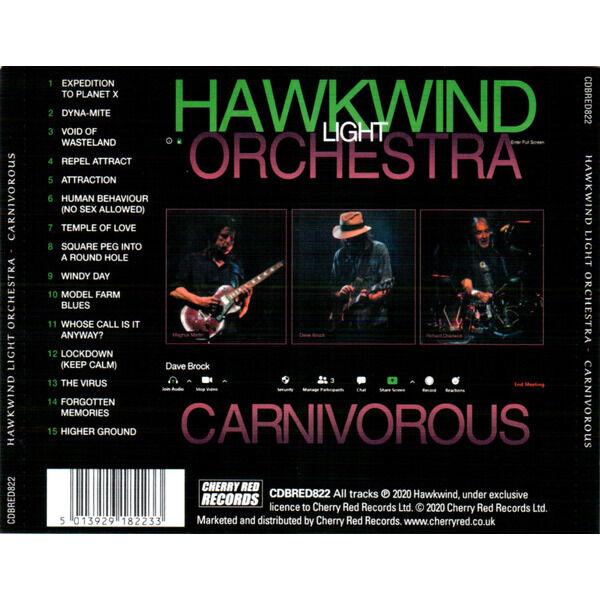 Hawkwind Light Orchestra Carnivorous