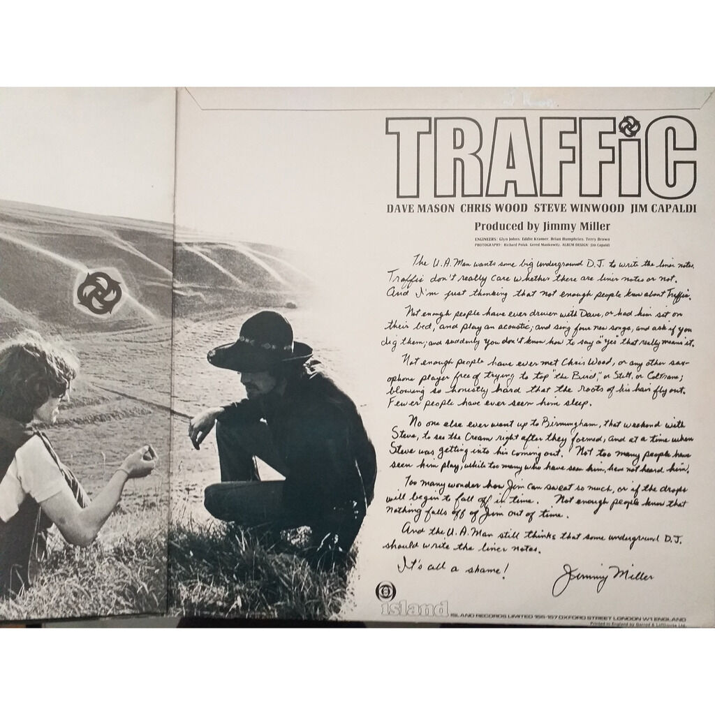 Traffic Traffic (1st UK press with booklet )