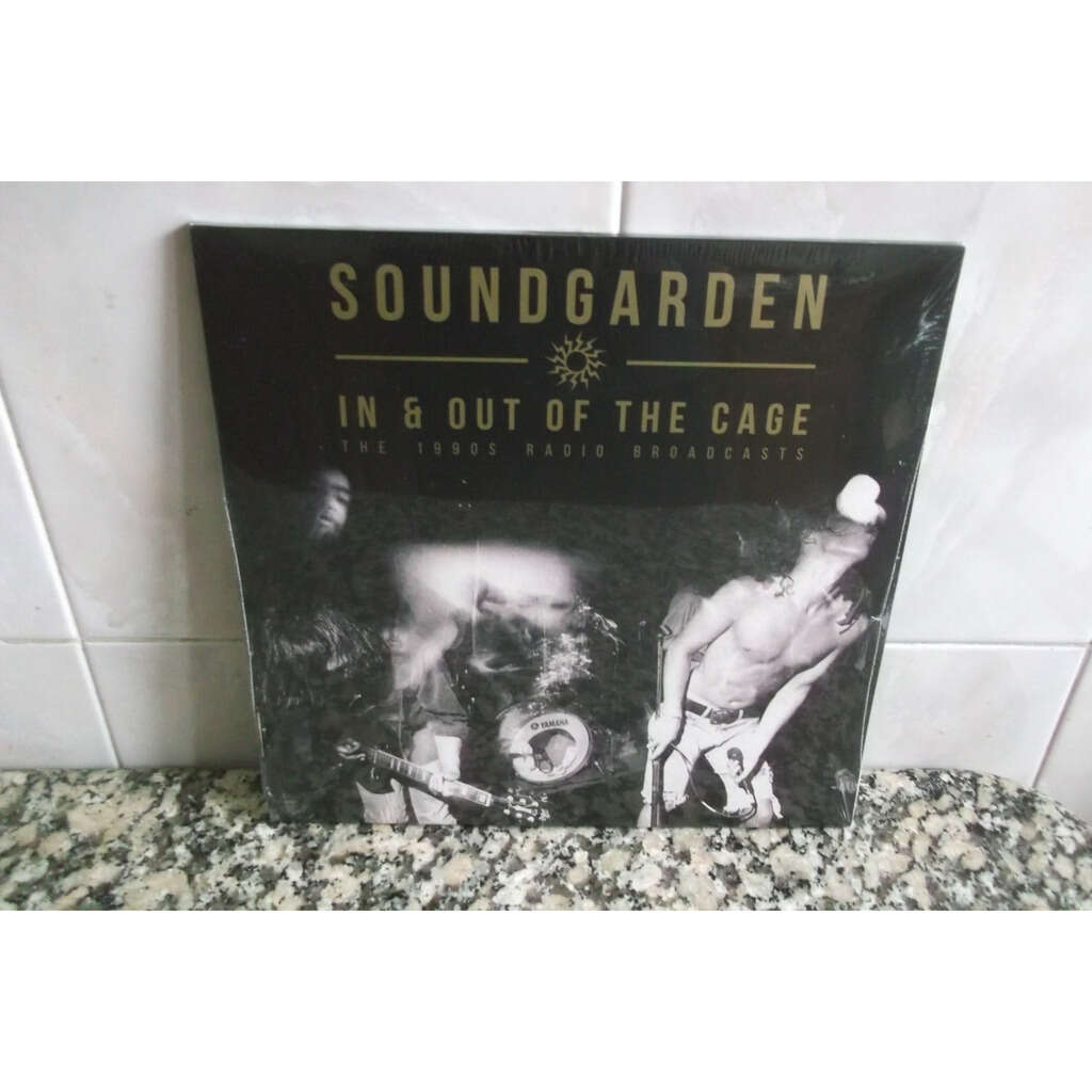 SOUNDGARDEN In & Out Of The Cage - The 1990's Radio Broadcasts