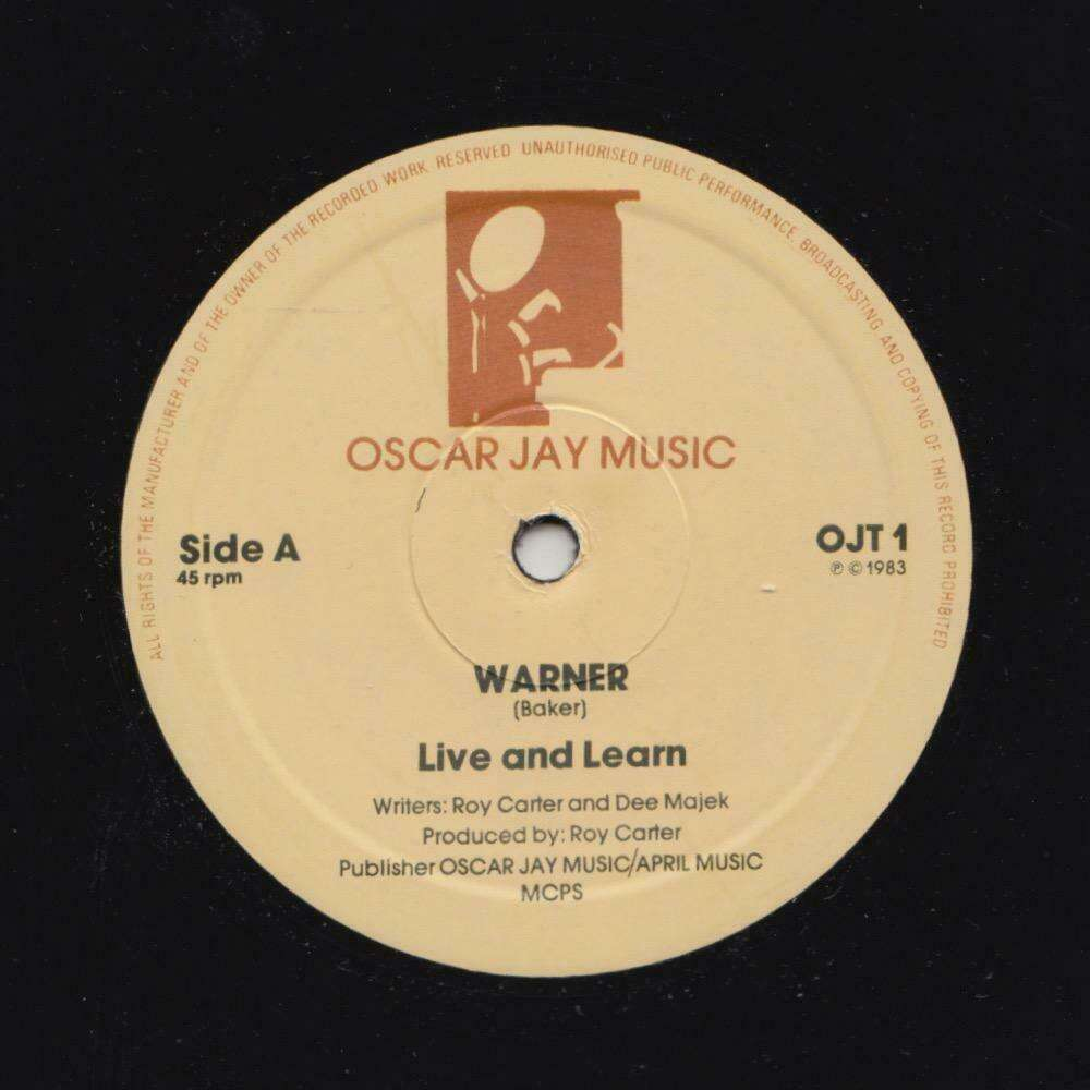 Warner Live And Learn / after love has gone1983.