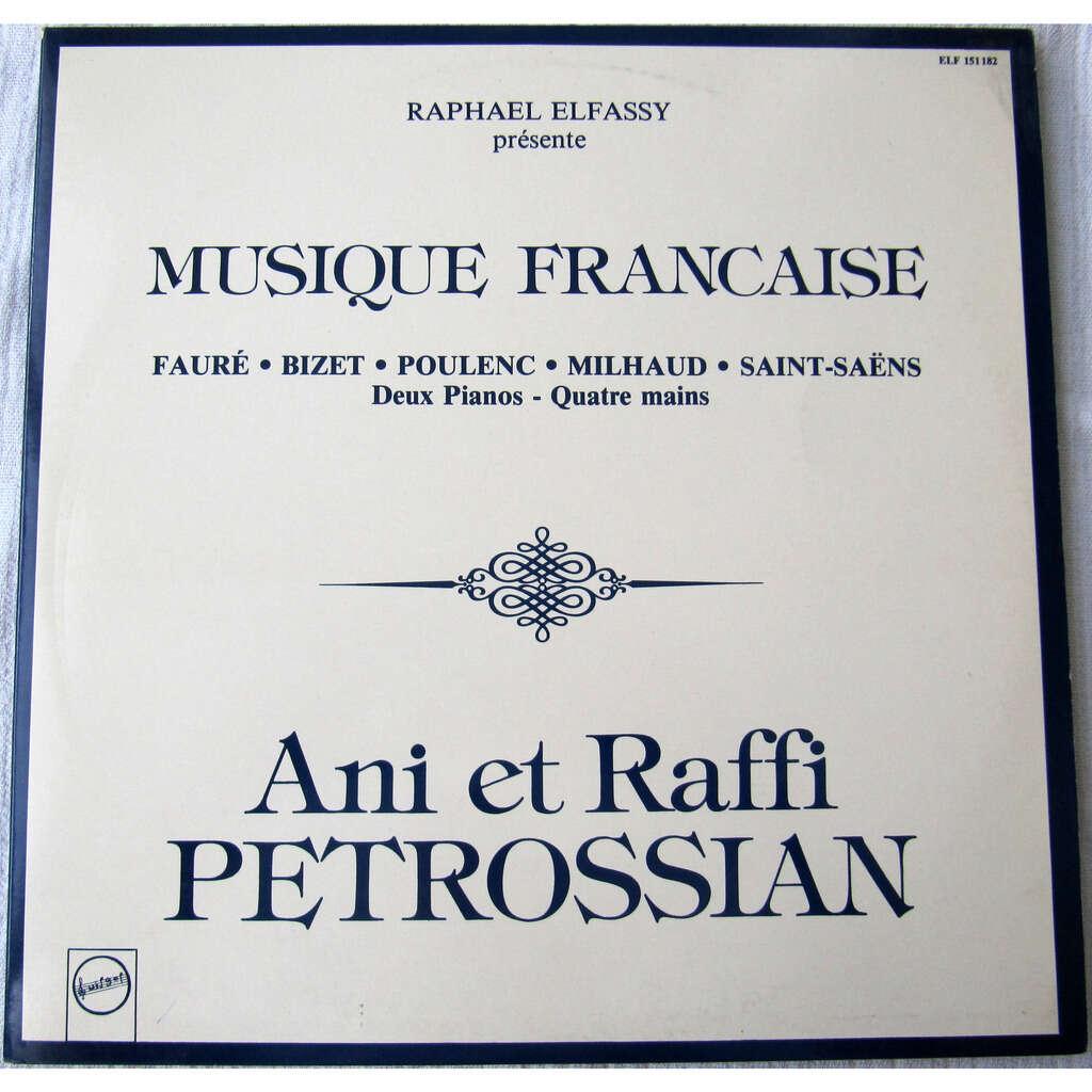 Ani Petrossian, Raffi Petrossian Musique Française