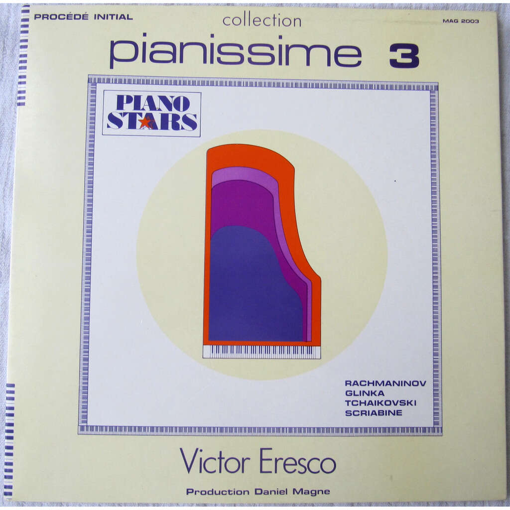 Victor Eresko, Sergei Vasilyevich Rachmaninoff, Mi Prélude / Nocturne / Décembre / Poème - Pianissime 3