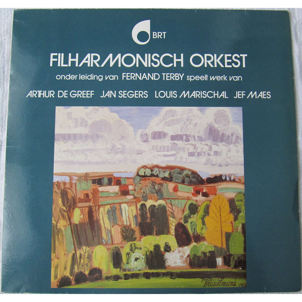 BRT Filharmonisch Orkest, Fernand Terby, Arthur De Vier Oud Vlaamse Liederen - Five Drawings - Concerto on themes of Gershwin for violon and orchestra