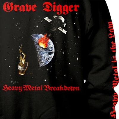 GRAVE DIGGER Heavy Metal Breakdown - HOODIE