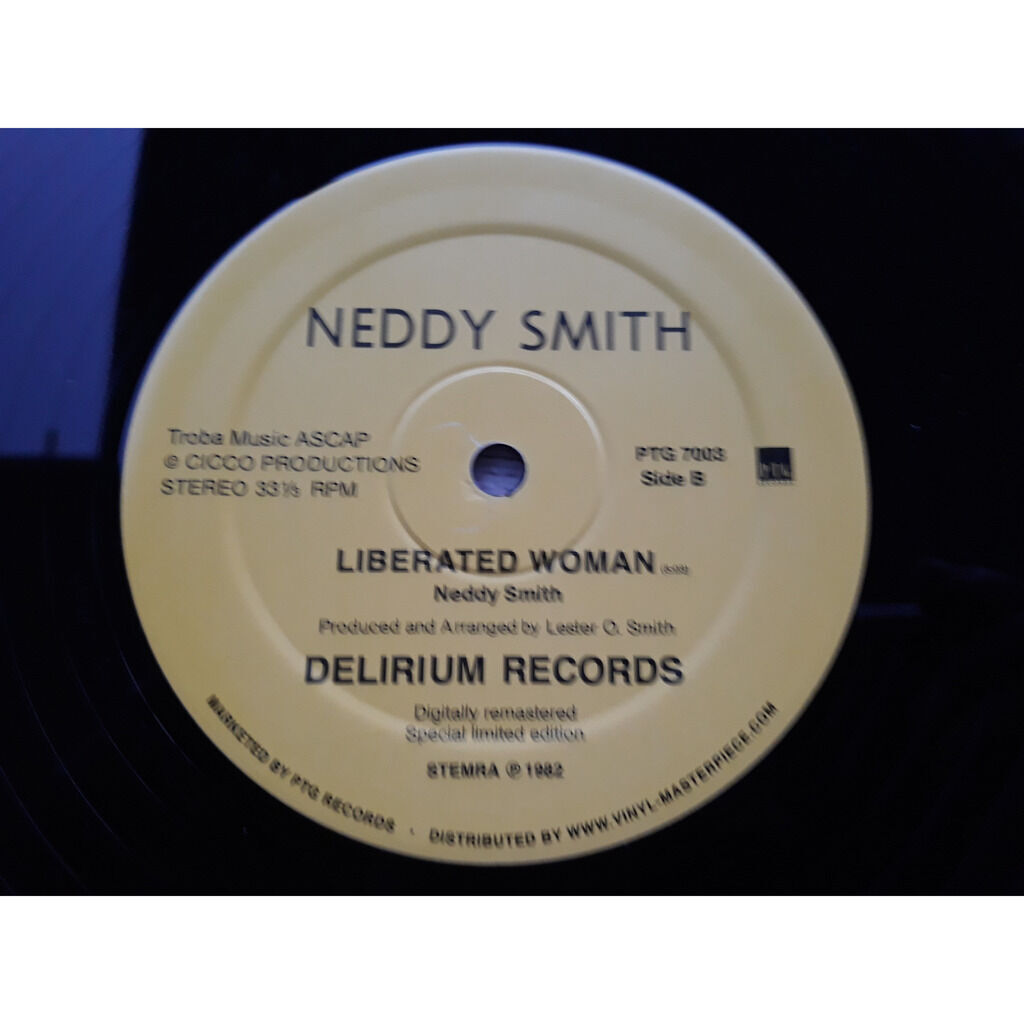 Neddy Smith Give it up / Liberated woman.1982.