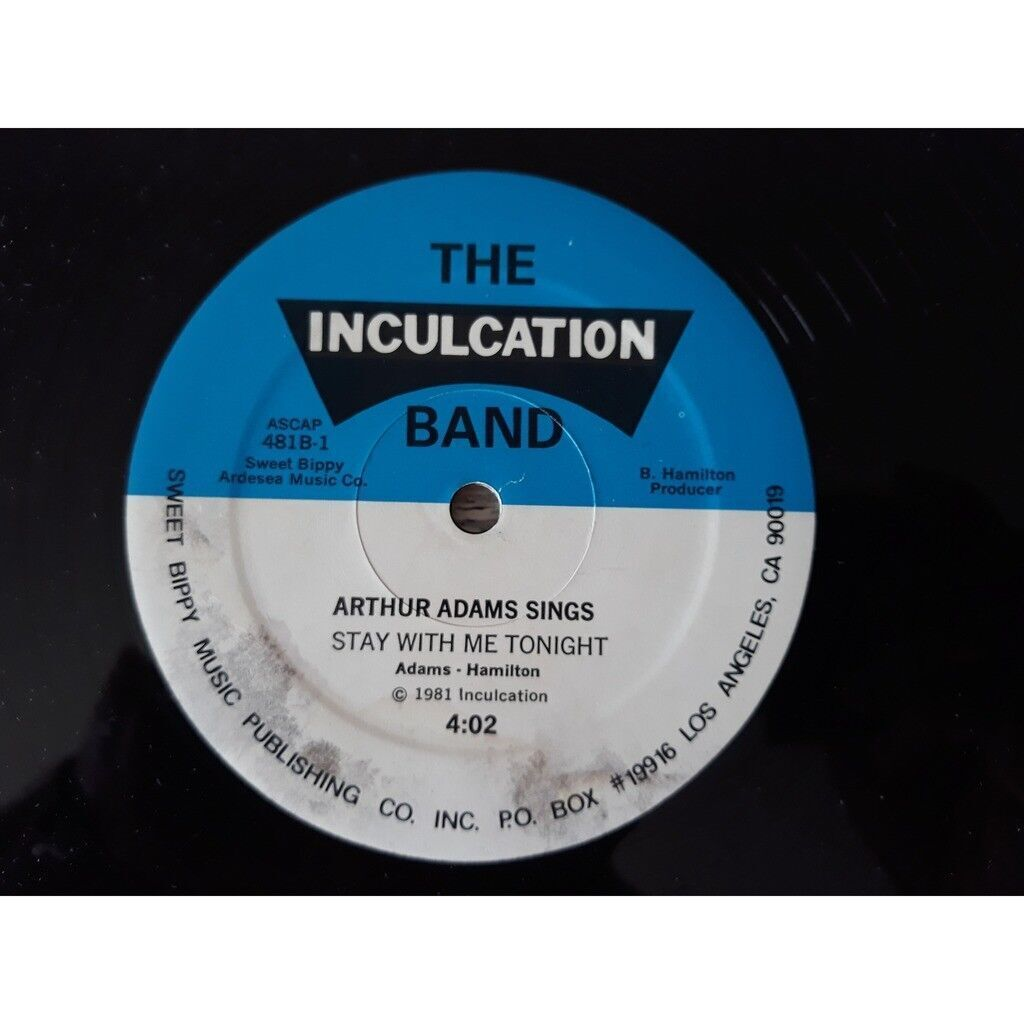 The Inculcation Band, Arthur Adams You Got The Floor
