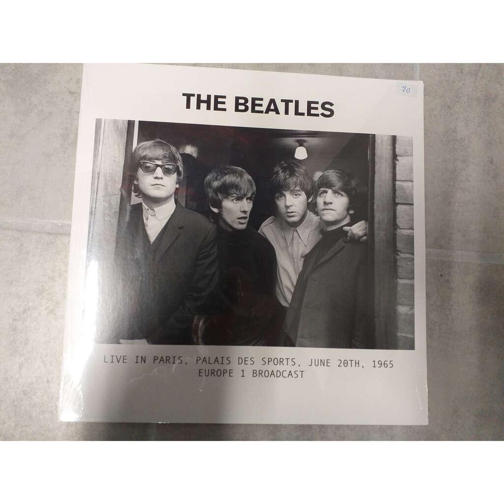 BEATLES THE LIVE IN PARIS PALAIS DES SPORTS JUNE 20TH 1965