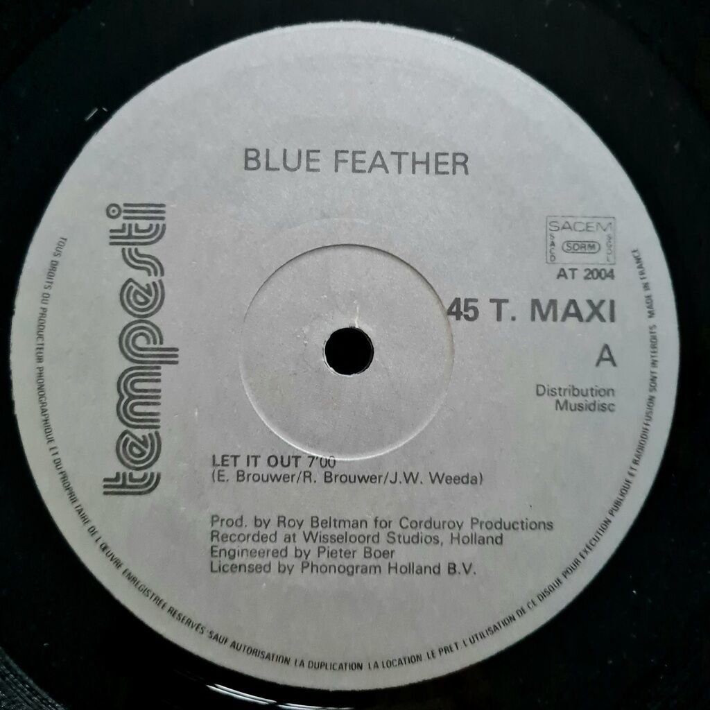blue feather Let It Out (12, Maxi)1983