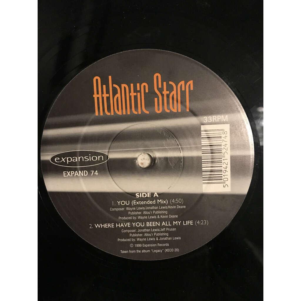 atlantic starr Legacy (LP sampler)