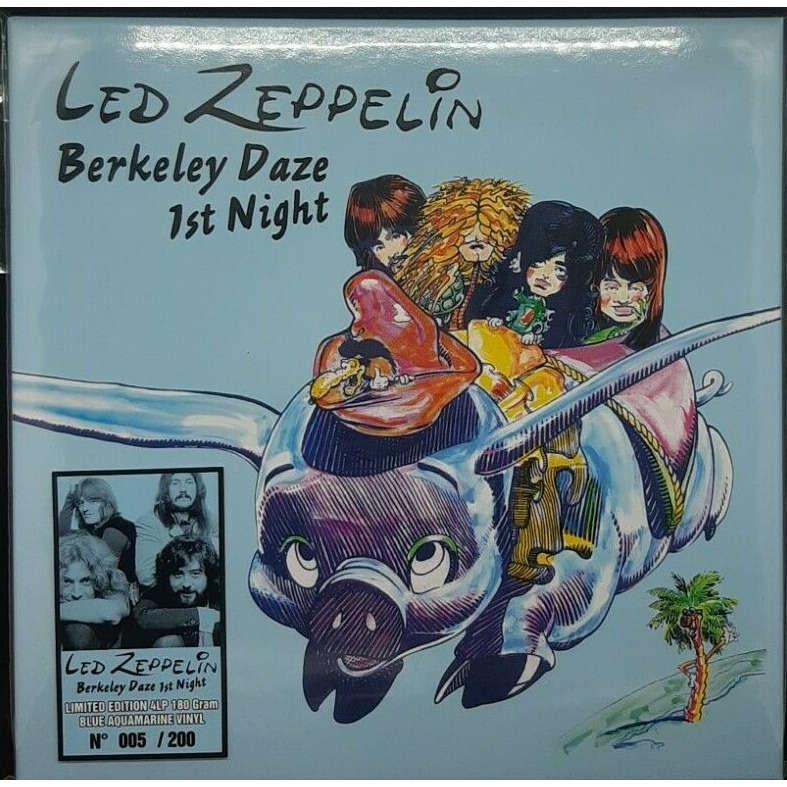 led zeppelin Berkeley daze 1st night