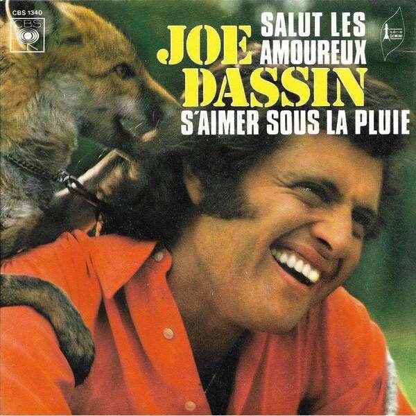 Joe Dassin Salut Les Amoureux / S'aimer Sous La Pluie