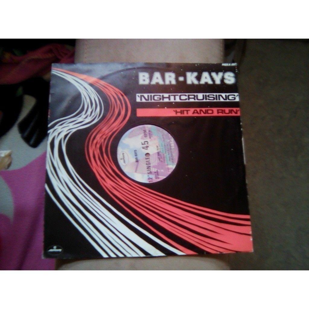 BAR-KAYS NIGHTCRUISING / HIT AND RUN.1981.