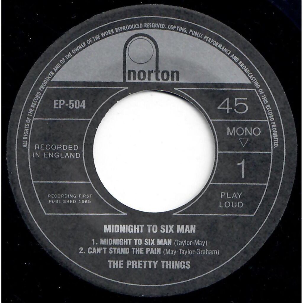 THE PRETTY THINGS Hard To Cry / Get away from it all