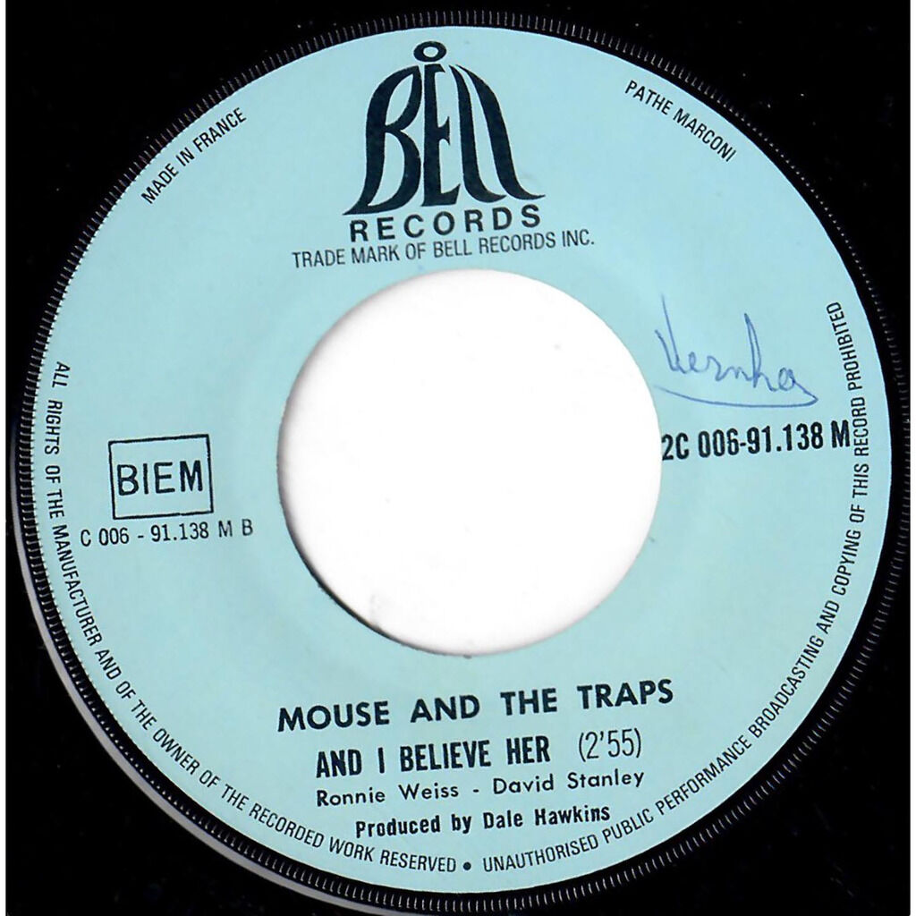 MOUSE AND THE TRAPS Wicker vine / And I believe her