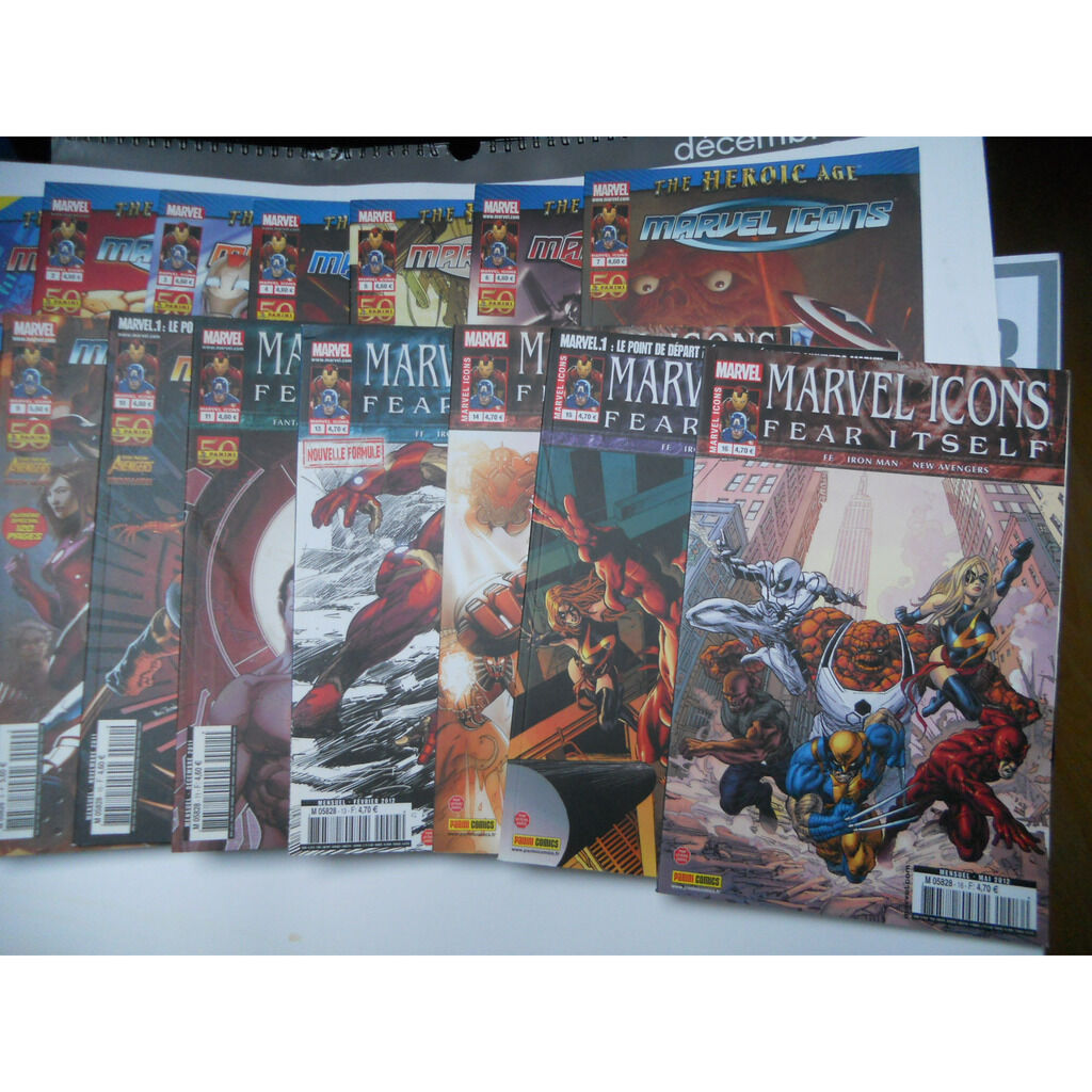 Marvel Icons (v2) n°1 à 17 série PRATIQUEMENT comp Marvel Icons (v2) n°1 à 17 série PRATIQUEMENT complète MANQUE LE N°12 (Marvel France, 2011-2012) -