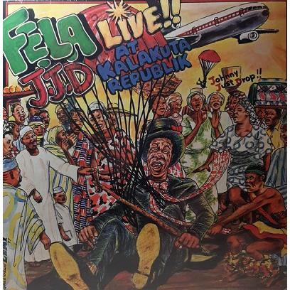 Fela Kuti And Afrika 70 J.J.D - Live!! At Kalakuta Republik