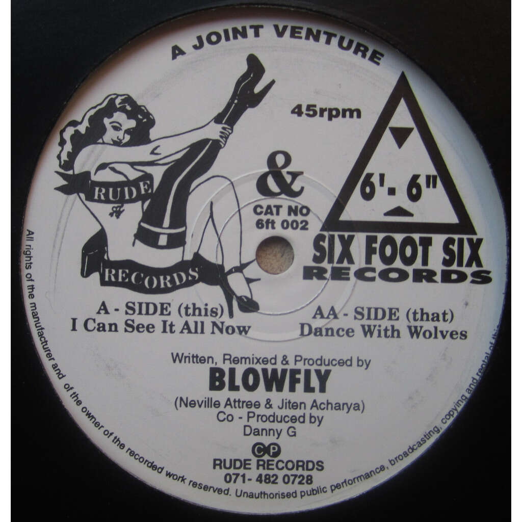 blowfly i can see it all now