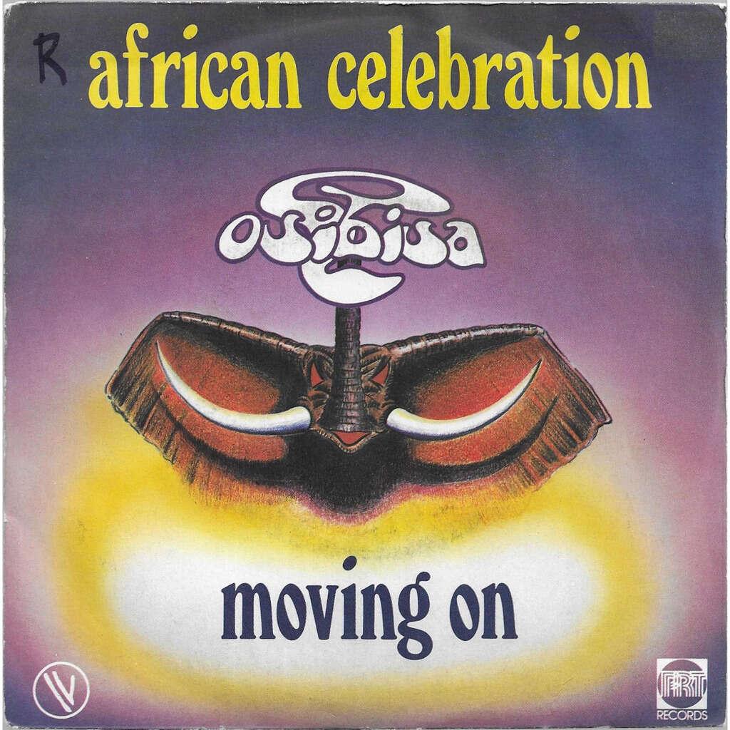 OSIBISA AFRICAN CELEBRATION / MOVING ON (promo copy)