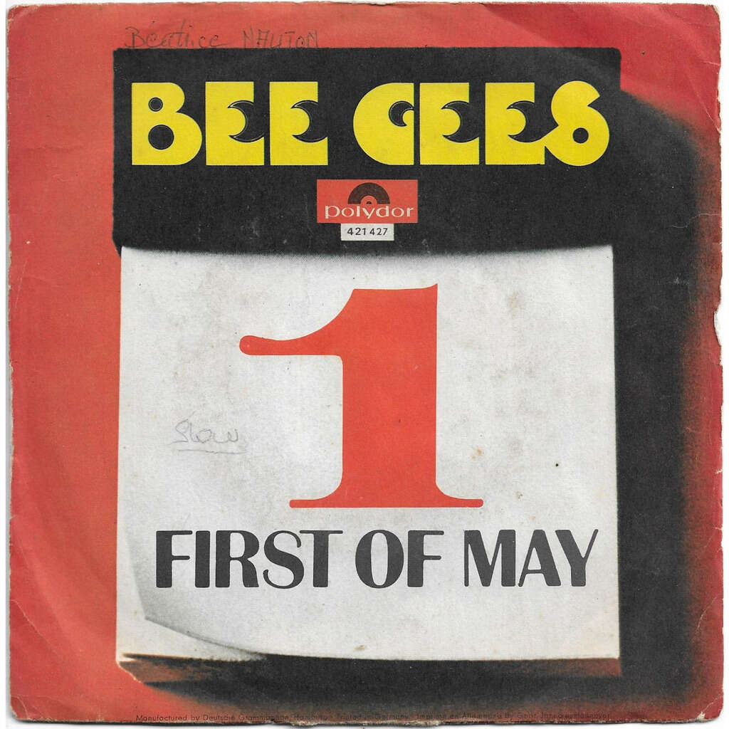 BEE GEES FIRST OF MAY / LAMPLIGHT